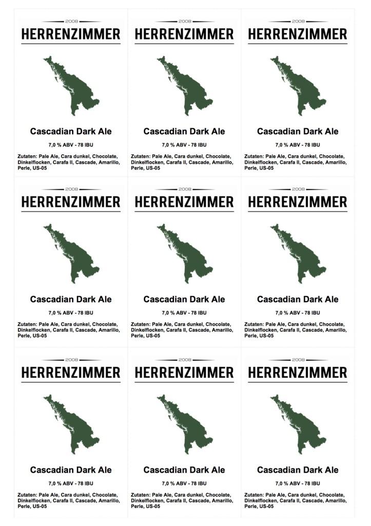Herrenzimmer - Cascadian Dark Ale
