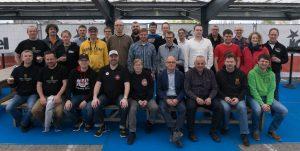 Gruppenphoto der teilnehmenden Brauer